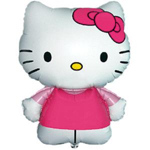 Фигурный шар 'Hello Kitty'