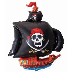 Фигурный шар 'Корабль пиратов'
