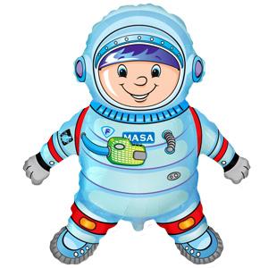 Фигурный шар 'Космонавт'