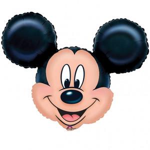 Фигурный шар 'Микки-Маус (голова)'