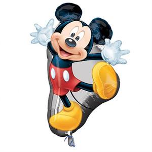 Фигурный шар 'Микки-Маус'