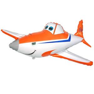 Фигурный шар 'Самолетик'