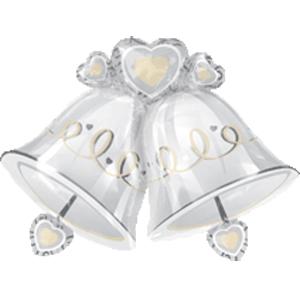 Фигурный шар 'Свадебные колокольчики'