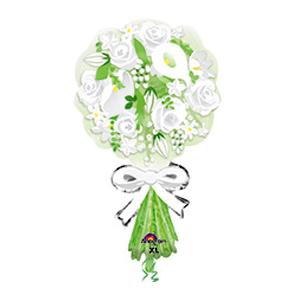 Фигурный шар 'Свадебный букет '