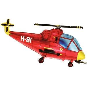 Фигурный шар 'Вертолёт'