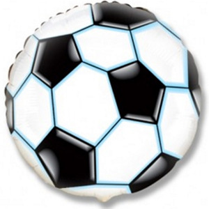 Шарик-круг 'Футбольный мяч'