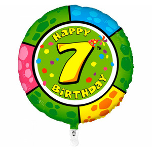 Шар 'Happy Birthday - 7'