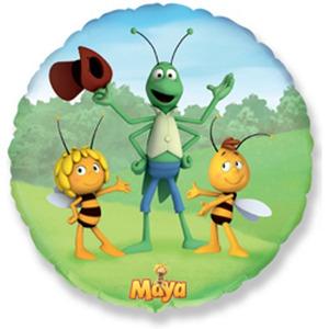 Шарик-круг 'Пчёлка Майя'