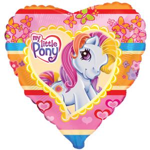 Шарик-сердце 'Моя маленькая пони'
