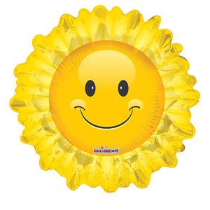 Фигурный шар 'Яркое солнышко'