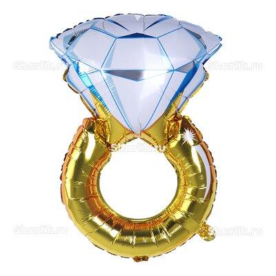 Фигурный шар Обручальное кольцо