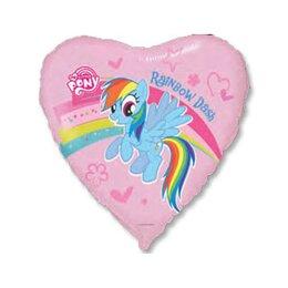 Шарик-сердце Мой маленький пони Радуга Дэш