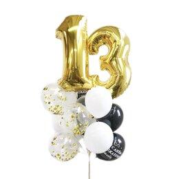 Букет воздушных шаров с цифрами на день рождения