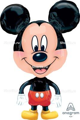 Ходячий шар головастик Микки Маус