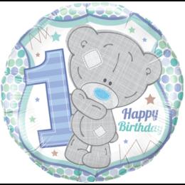 Шарик-круг Мишка Тедди мальчик, 1 годик
