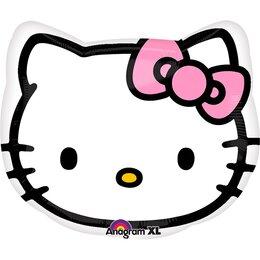 Фигурный шар голова Hello Kitty