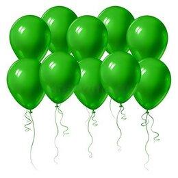 Зелёные воздушные шары на День Рождения