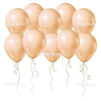 Персиковые шары