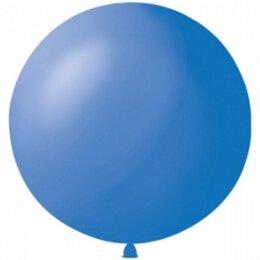 Синий надувной шар большого диаметра