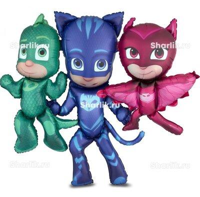 Ходячий шар персонажи Герои в масках