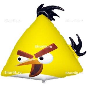 Фигурный шар Angry Birds (Желтая птица)