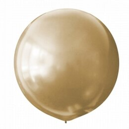 Золотой большой шар (металлик)