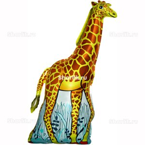 Фигурный шарик Жираф