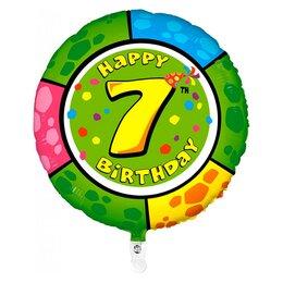 """Шарик-цифра """"Happy Birthday - 7"""""""