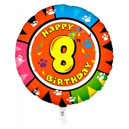 "Воздушный шарик ""Шар Happy Birthday - 8"""