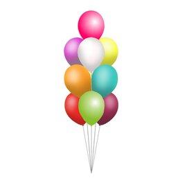 Фонтан из 9 шаров