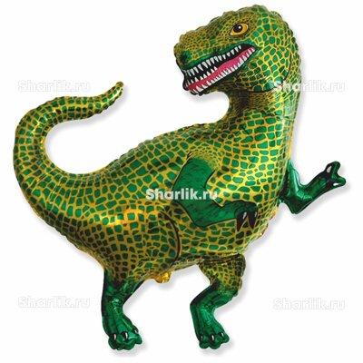 Фигурный шар Тираннозавр зеленый