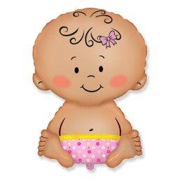 """Шарик на выписку из роддома - воздушный гелиевый шар """"Малышка"""" для дочки"""
