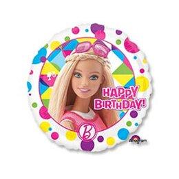 Шарик-круг Happy Birthday Барби