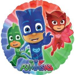 Шарик-круг с персонажами Герои в масках