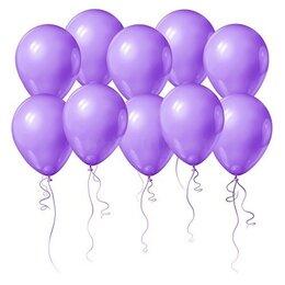 Воздушные шарики на девичник фиолетового цвета