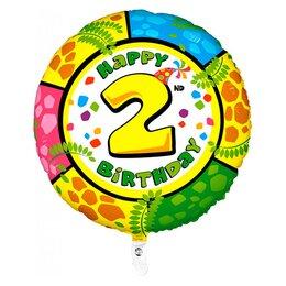 "Воздушный шар-цифра ""Happy Birthday - 2"""