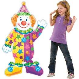 "Воздушный ходячий шар ""Весёлый клоун"""