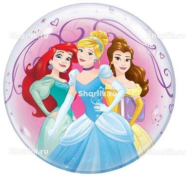 Шар Bubble Дисней Принцессы