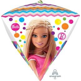 Шар 3D алмаз с Барби