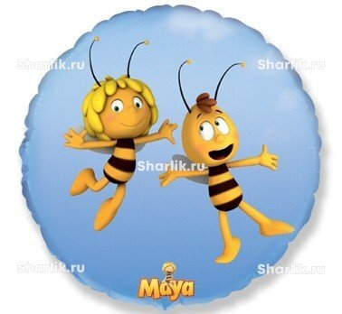 Шарик-круг Пчела Майя и Вилли