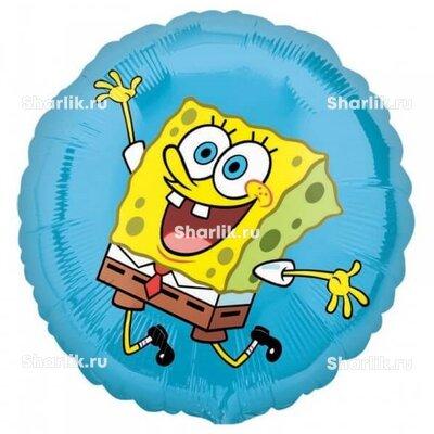 Шарик-круг радостный Спанч Боб