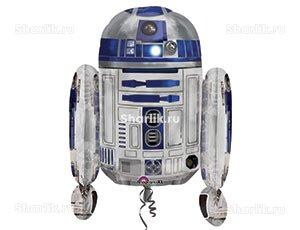 Фигурный шар Звездные войны Робот R2D2
