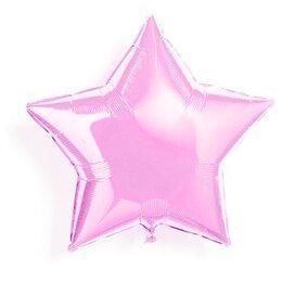 """Воздушный шарик для девичника """"Розовая звезда"""""""