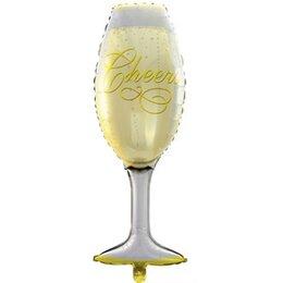 Фигурный шар Бокал шампанского