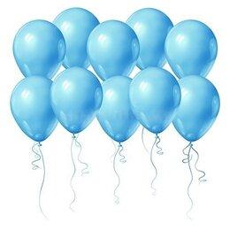 Надувные воздушные шары, голубые