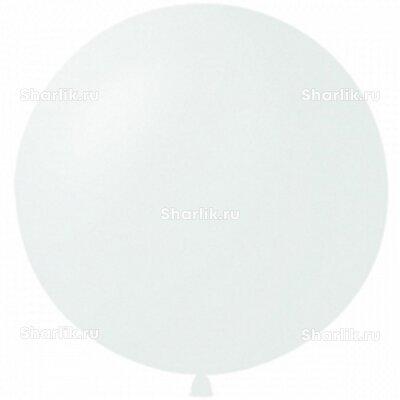 Белый большой шар