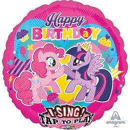 Поющий шар Happy Birthday Мой маленький пони