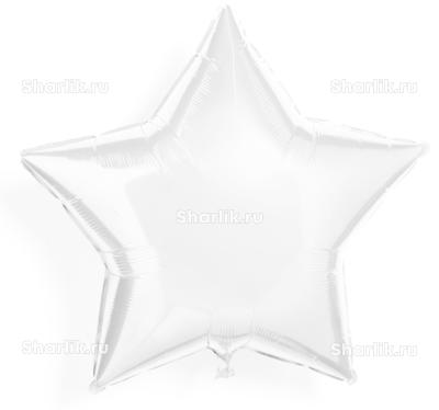 Шарик-звезда Белая
