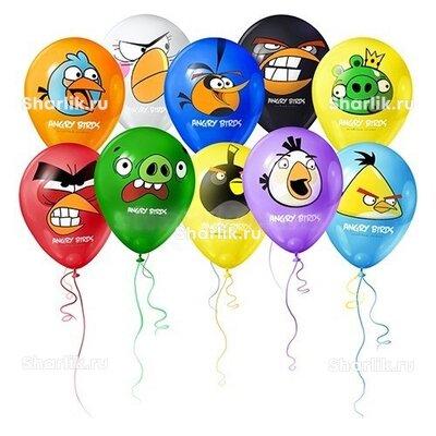 Шары разноцветные Angry Birds