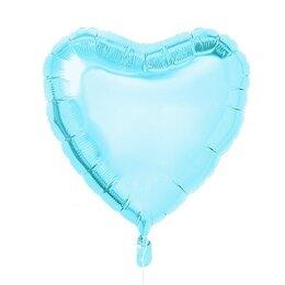 Шарик Голубое сердце